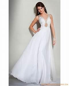 robe de soiree longue blanche pas cher With longue robe blanche pas cher