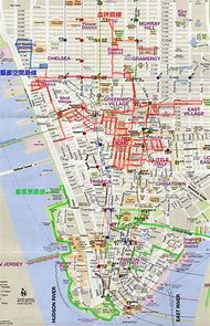 downtown nyc map
