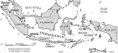indonesia relief cartogis services maps  anu