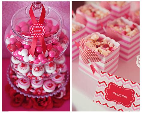 amanda s parties to go valentines party table ideas