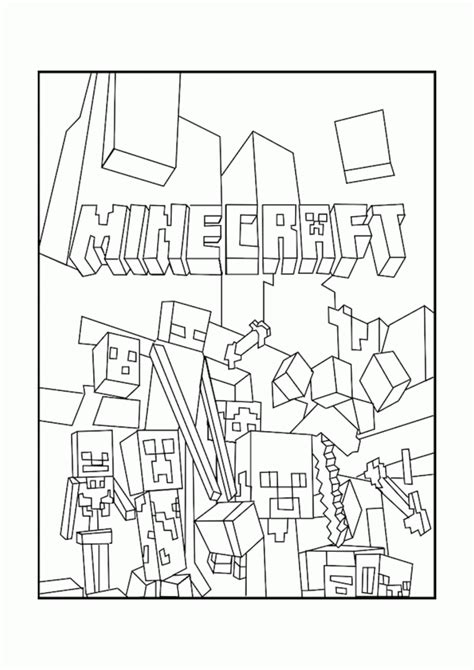 minecraft color ids minecraft coloring pages for coloring home
