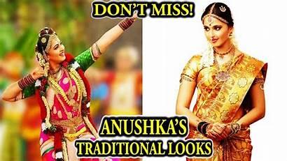 Shetty Anushka Traditional