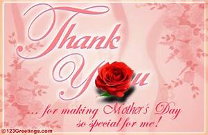 For Making Mom's Day Special... Free Thank You eCards ...