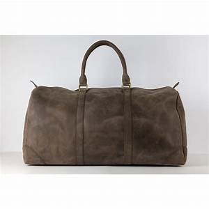 Reisetasche Aus Leder : gro e leder weekender reisetasche aus leder in dunkelbraun ~ Somuchworld.com Haus und Dekorationen