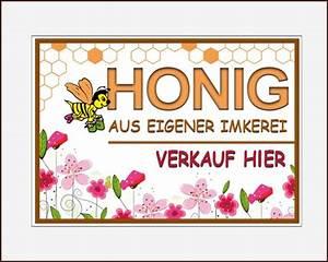Honig Aus Eigener Imkerei : schild honig aus eigener imkerei rosa blumen 35 x 25 cm shop bienenweber ~ Whattoseeinmadrid.com Haus und Dekorationen