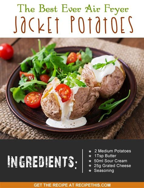 air recipes fryer jacket potatoes recipe potato ever dinner tower baked recipethis welcome lunch