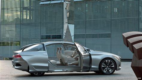 Mercedes Benz F800 Style Concept 2018 Doors Open