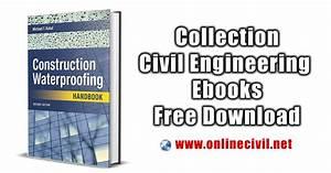 Construction Water Proofing Handbook