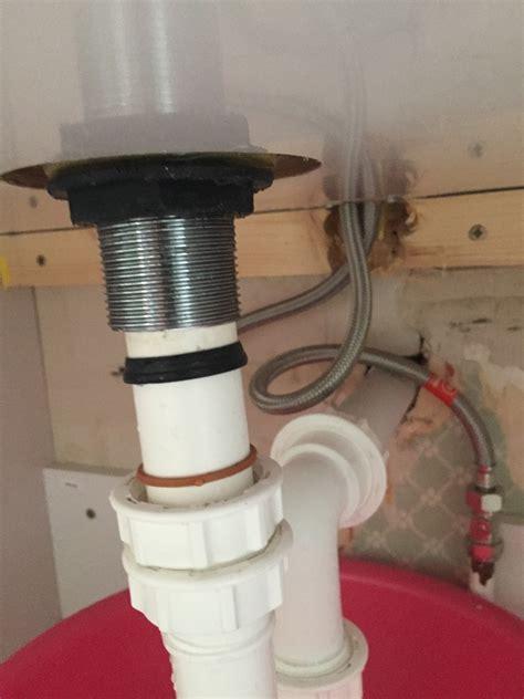 kitchen sink u bend sink leaking above u bend plumbing in southfields 5998