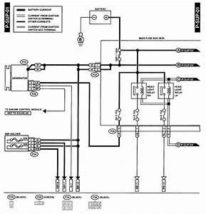 Wire Diagram Question - Subaru Outback