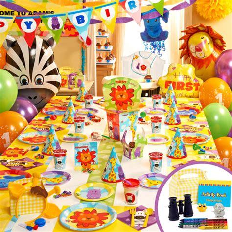 Birthday Party Decorations Animal Themes  Birthday Wrap