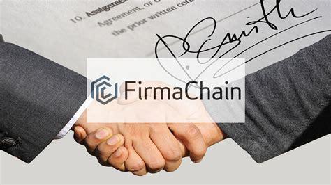 South Korean Blockchain E-contract Startup FirmaChain ...