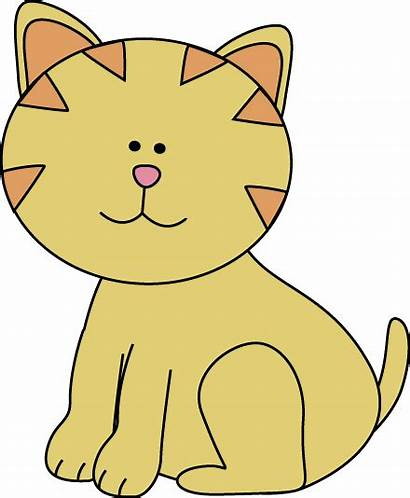 Kitten Clipart Clip Mycutegraphics Outline Panda
