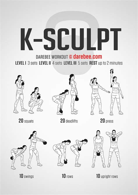 kettlebell body kettlebells workout total fitness workouts exercise lower sculpt training legs muscle exercices skinnymom abs machine killer