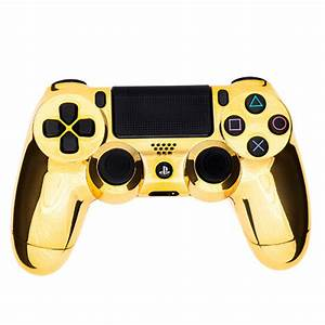 PlayStation DualShock 4 C3-PController - Chrome Gold Games