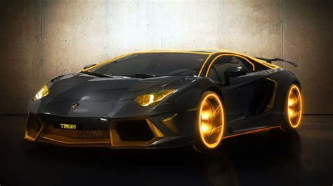 Lamborghini Car : Tron Lamborghini Aventador Hd Wallpapers Ultra Hd