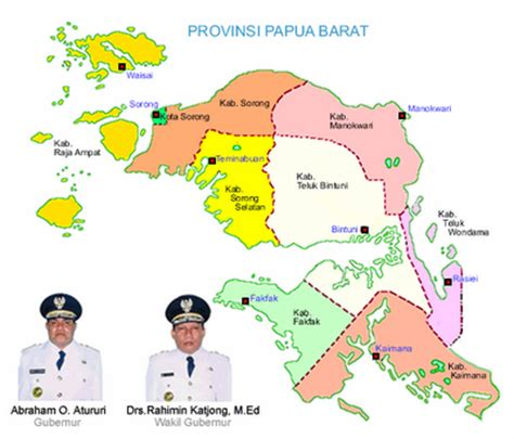 info papua barat daya ruu pemekaran provinsi papua barat