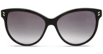 black cat eye sunglasses stella mccartney black cat eye sunglasses in black lyst