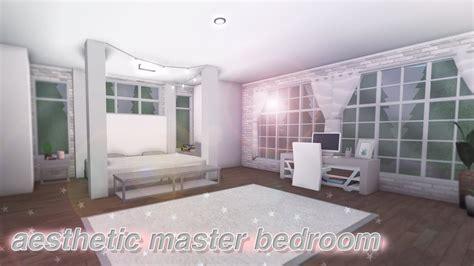 aesthetic bedroom bathroom  bloxburg build