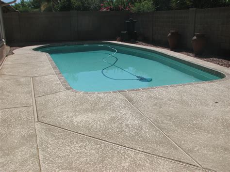 cool deck cool deck backyard swimming pool sledge concrete coatings