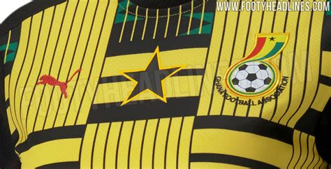 LEAKED: Photos of Puma Black Stars away jersey pops up ...