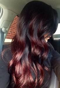 Ombré Hair Rouge : ombr hair rouge fonc ~ Melissatoandfro.com Idées de Décoration