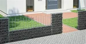 gabionen ganz einfach selber bauen obi gartenplaner With französischer balkon mit gartenzaun gabionen