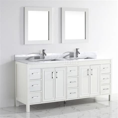 studio bathe vanity studio bathe corniche 75 inch bathroom vanity white