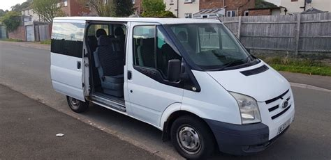 plate ford transit minibus