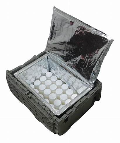 Reusable Containers Packaging Thermal Insulated Temperature Box