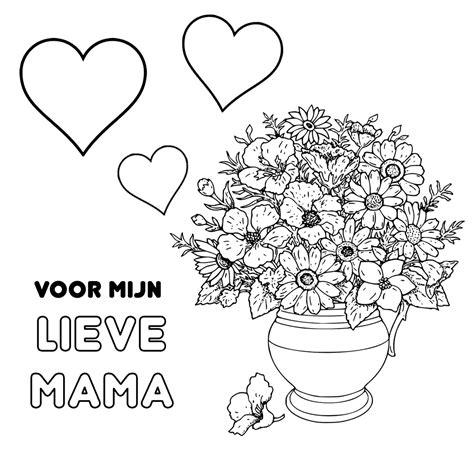 Blond Amsterdam Kleurplaat by Leuk Voor Hartjes En Een Bloemetje