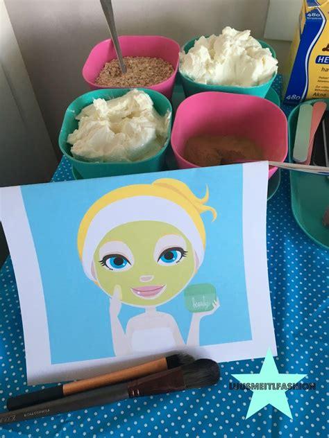 ideen für kindergeburtstag spa geburtstag ideen gesichtsmaske kindergeburtstag 8
