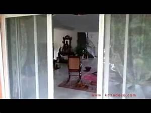 Moustiquaire Pour Velux : moustiquaire motoris e pour baie vitr e youtube ~ Premium-room.com Idées de Décoration