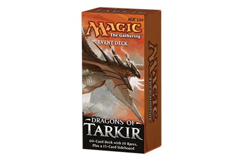 dragons of tarkir card set archive products game