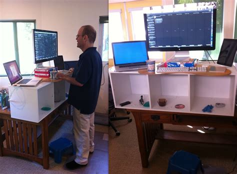 Lifehacker Standing Desk Diy by The Stand Up Desk Craze What Is It And How Can You Try