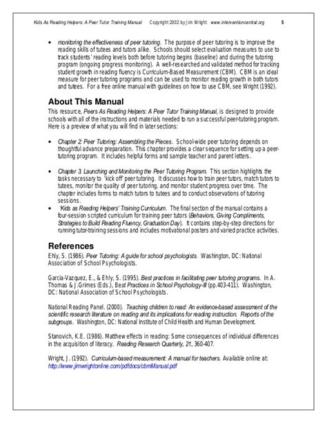 peer tutor sle resume professional peer tutor templates
