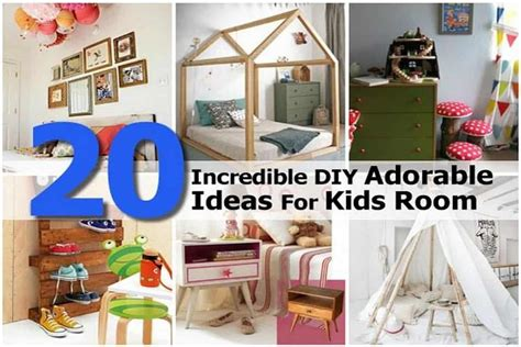 incredible diy adorable ideas  kids room