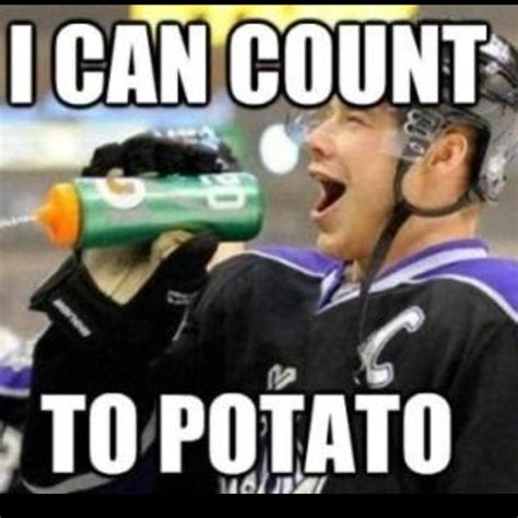 I Can Count To Potato Meme - i can count to potato dustin brown a loves pinterest