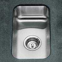 small kitchen sinks Small Squared Undercounter Stainless Steel Sink ...