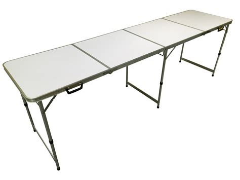 living accents 72in x 30in fold in half table pa1108 8ft folding table impressive on small plastic folding
