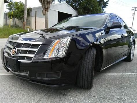 Sell Used 2011 Cadillac Cts 4 Luxury Sedan 4-door 3.0l In
