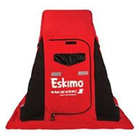 clam fishing chair canada eskimo quickflip 2 person flip up fishing shelter