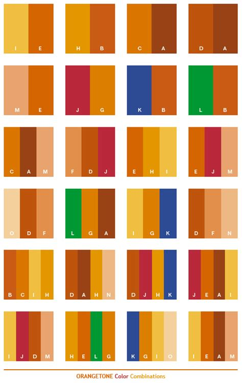 colors that go with orange orange tone color schemes color combinations color palettes for print cmyk and web rgb html