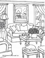 Coloring Drawing Rooms Sydney Adults Opera Adult Interior Living Perspective Colouring Printable Drawings Then Graphic Getdrawings Getcolorings Colors Rio Robotic sketch template