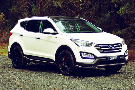 review  hyundai santa fe sr review road test