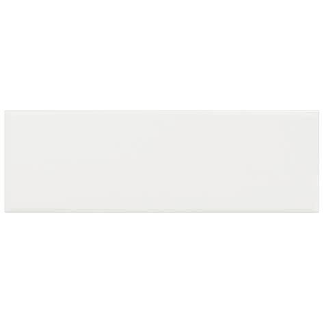 shop interceramic brick 40 pack white embossed ceramic