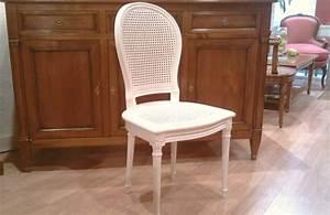 Chaise Louis Xvi : chaise louis xvi cann e fer cheval meubles hummel ~ Teatrodelosmanantiales.com Idées de Décoration