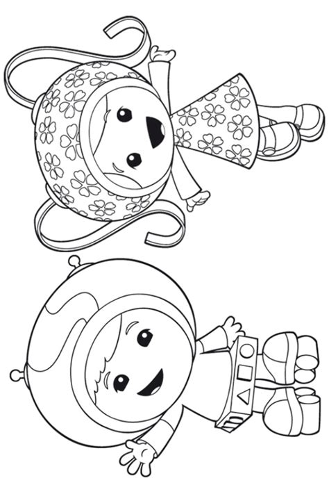 Coloring Umizoomi by Coloring Page Team Umizoomi Milli Coloring Pages