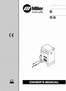 Miller Electric Welder Spectrum 1000 User Guide