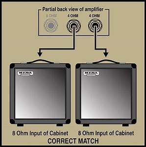 Mesa  Boogie Speaker Impedance Matching And Hook